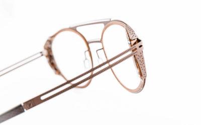 Créateur de lunettes acétate & acier